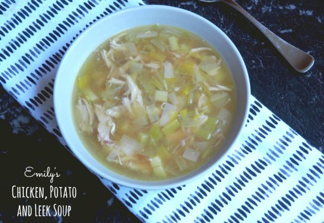 Emily's Chicken, Potato and Leek Soup