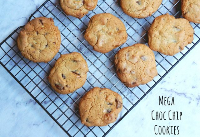 Mega Choc-Chip Cookies