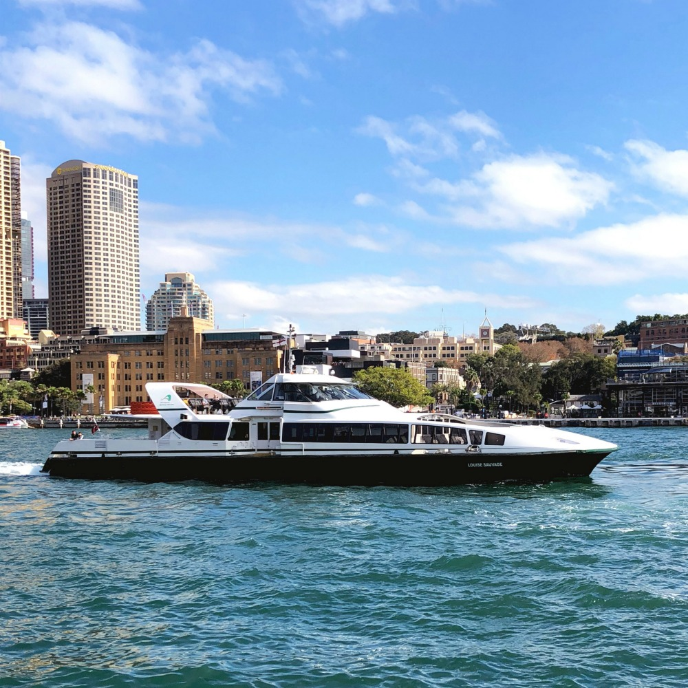 What to see and do in Sydney - Parramatta Rivercat