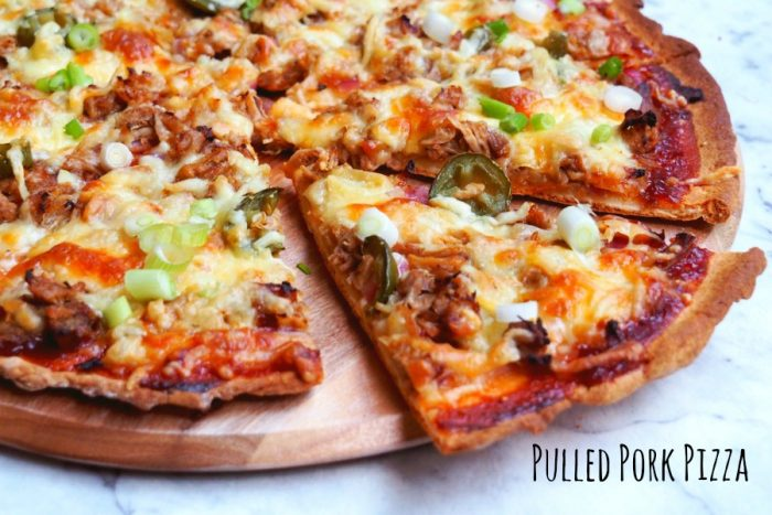 pulled pork pizza 1