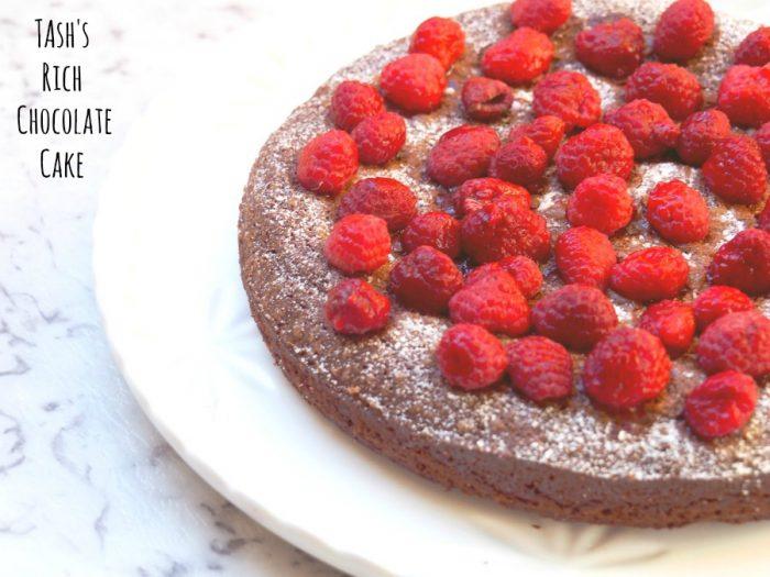 Tash's Rich Chocolate Cake