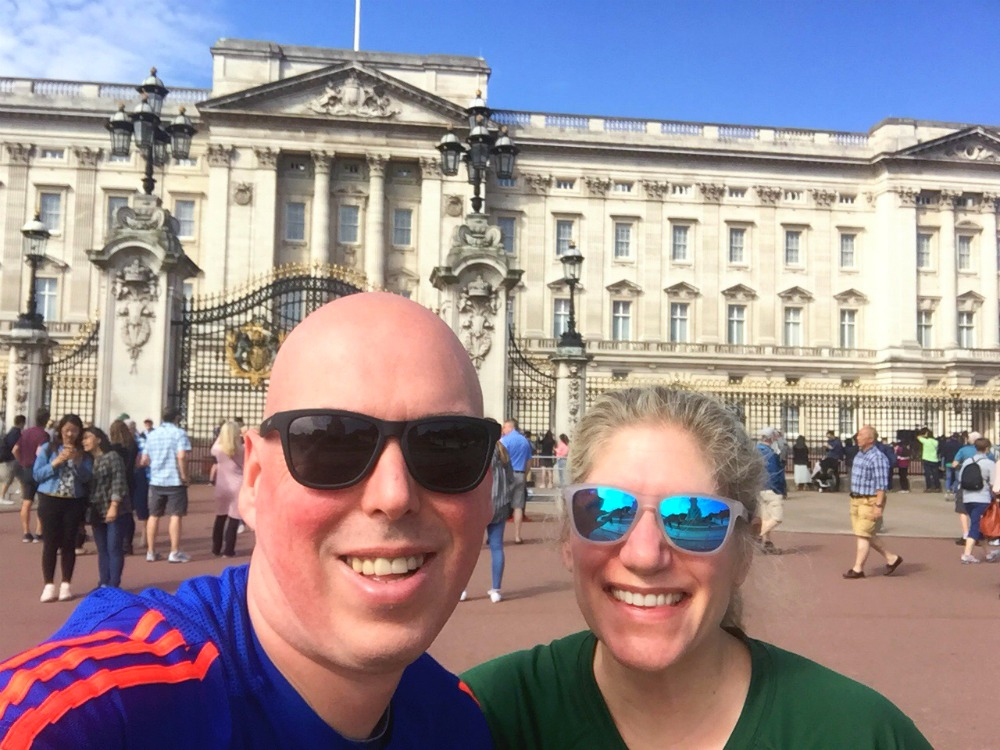 London Self Guided sightseeing run