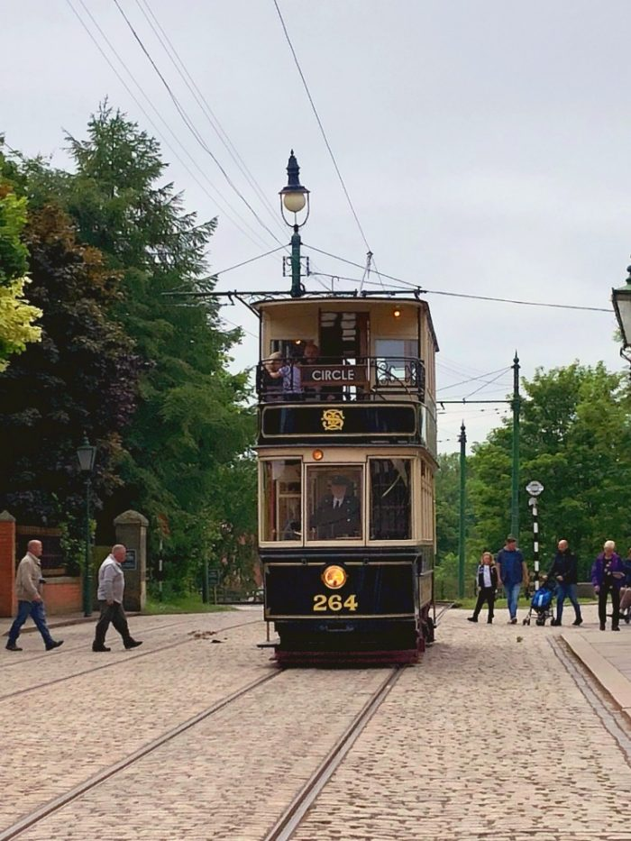 Newcastle Highlights - Beamish tram