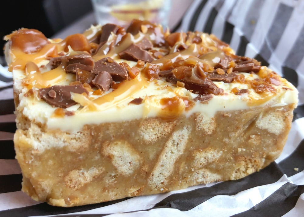48 hours in Edinburgh - Mimi's Daim Slice