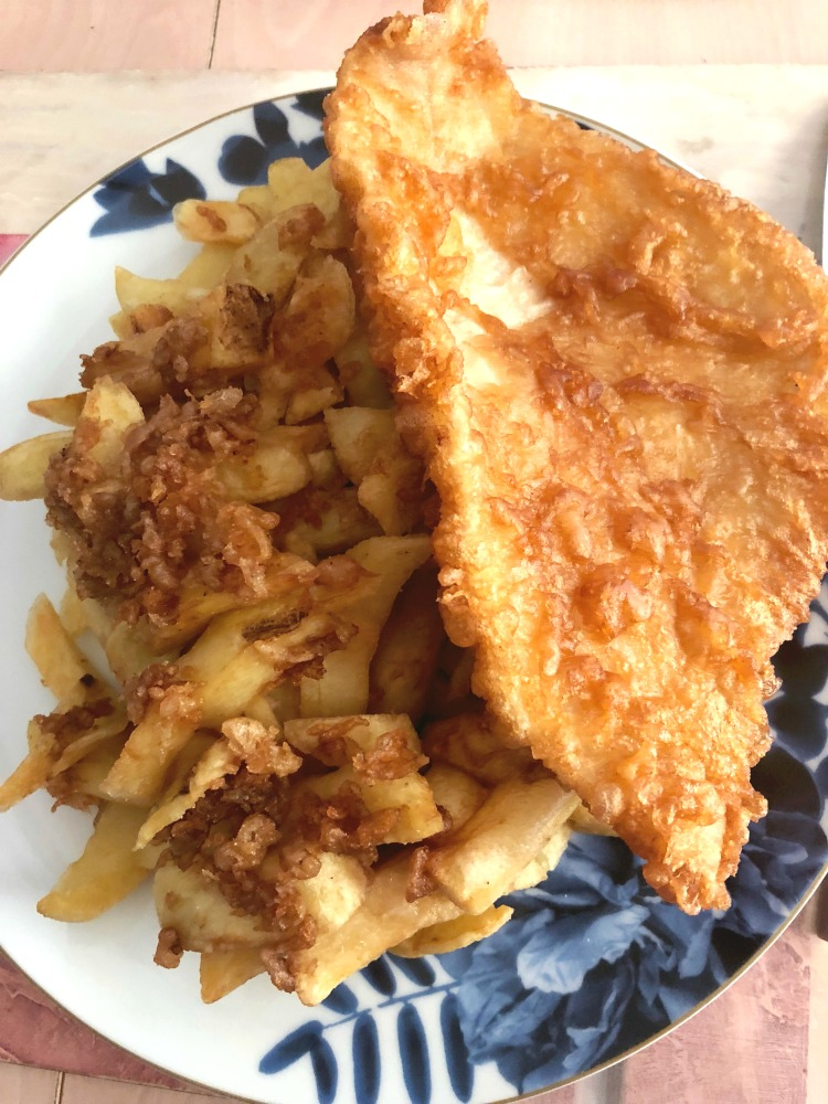 Taking stock June 2018 - fish and chips