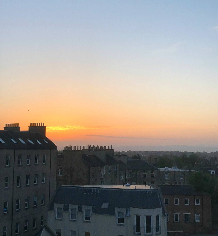 t48 hours in Edinburgh - Sunset in Edinburgh