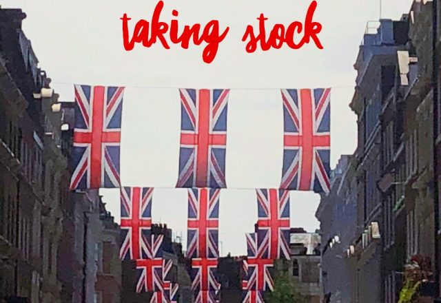 Taking Stock – June 2018