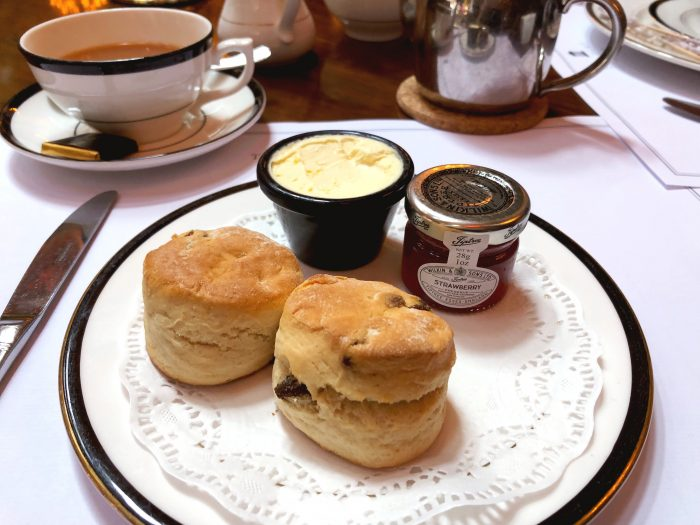 48 hours in Edinburgh - Scones at The Dome