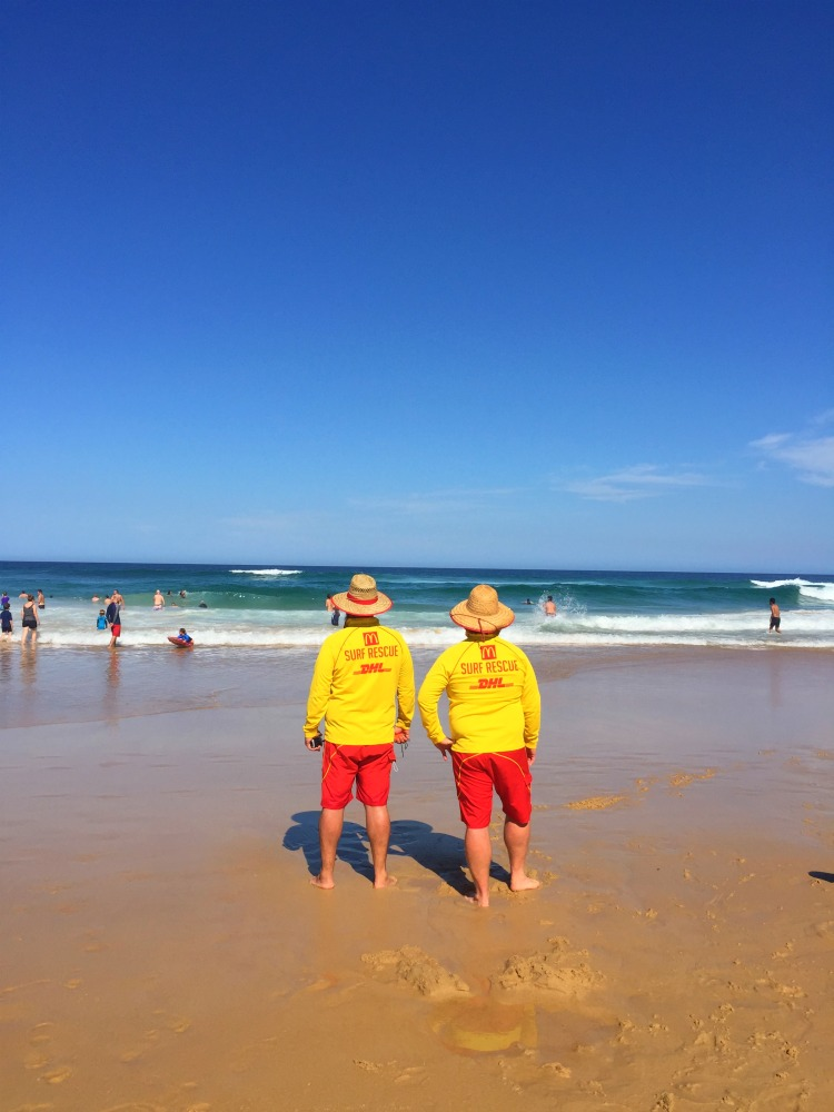 72 hours in Newcastle - beach