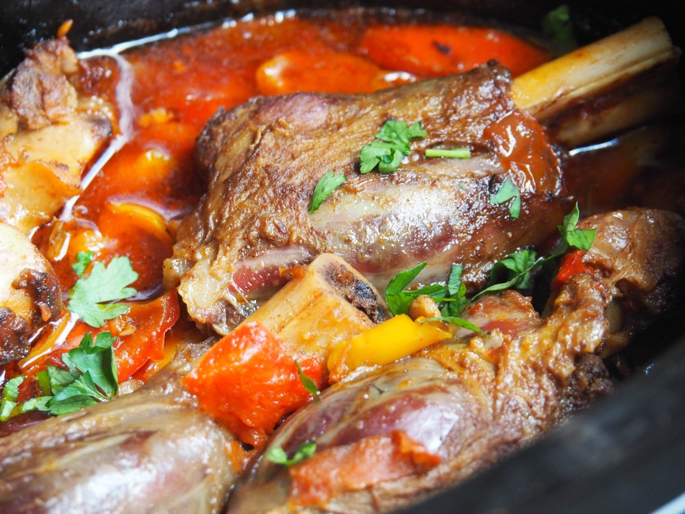 Mexican Slow Roasted Lamb Shanks 2