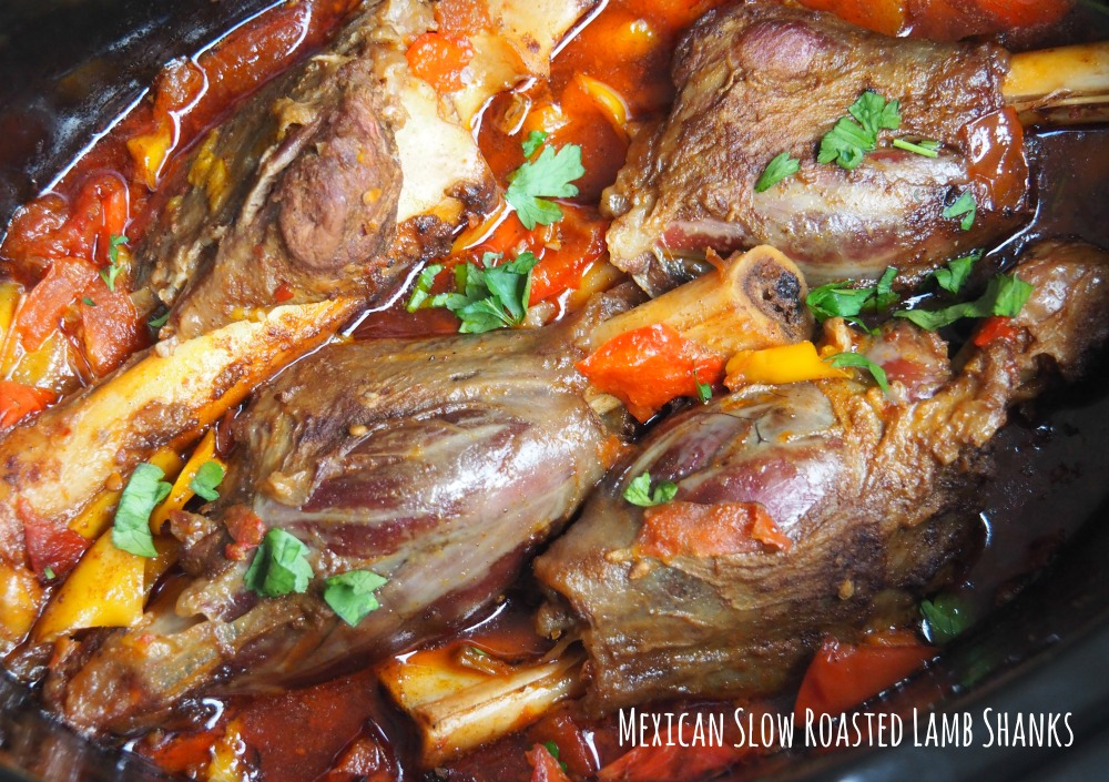 Mexican Slow Roasted Lamb Shanks