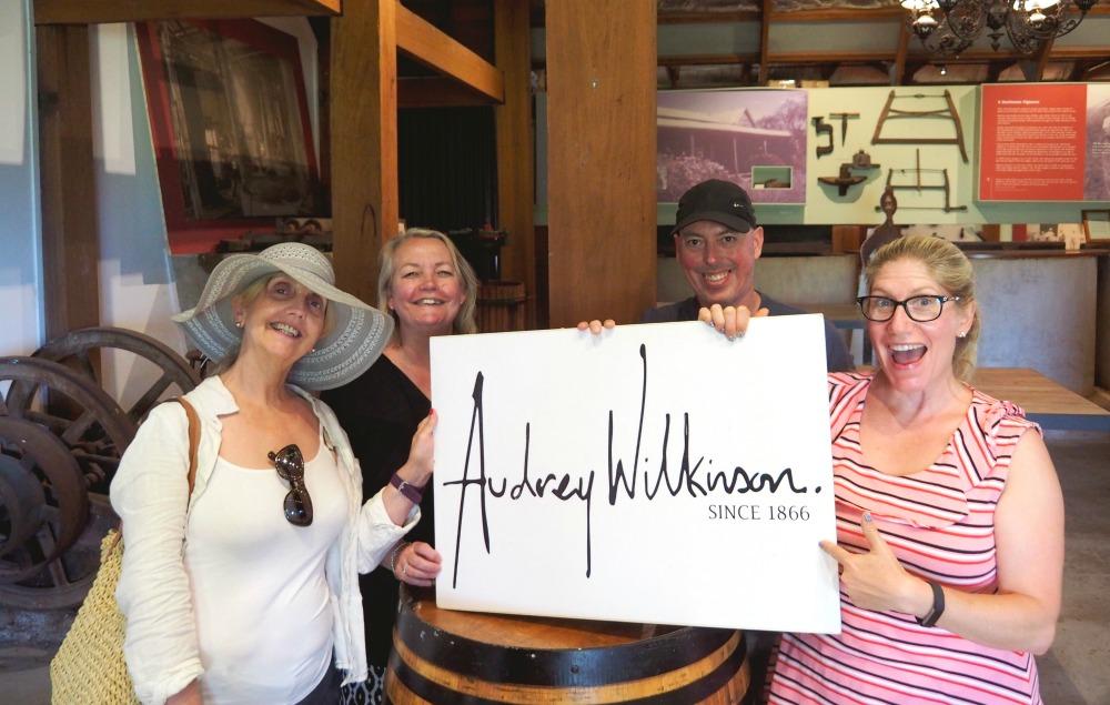 72 hours in the Hunter - Audrey Wilkinson cellar door