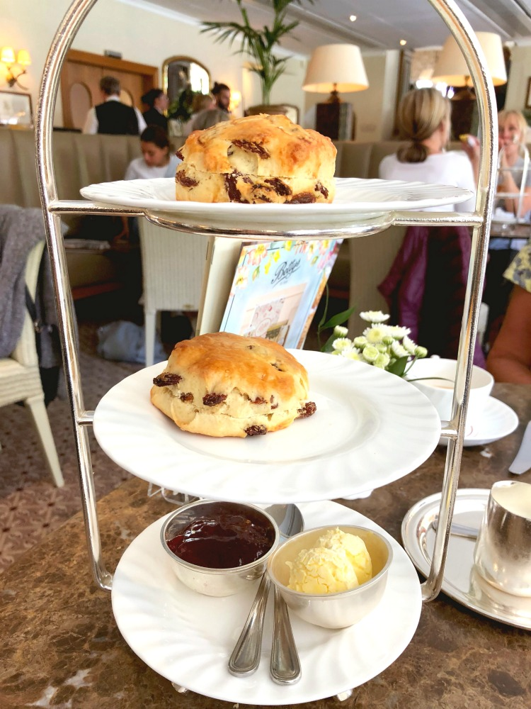Bettys and Fat Rascals - Devonshire tea