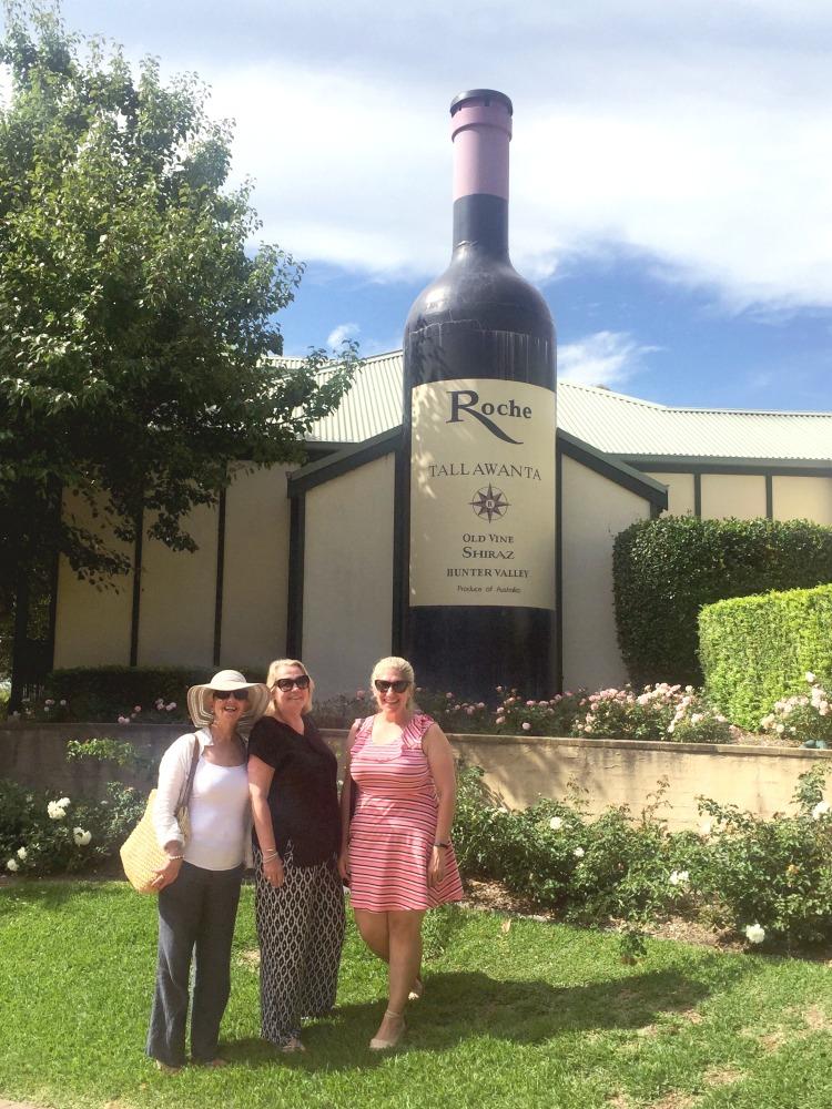 72 hours in the Hunter - Big Wine Bottle