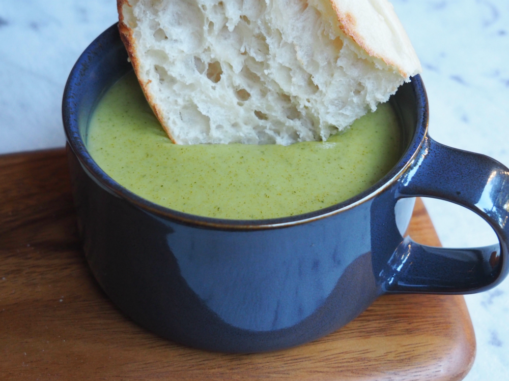 Thermomix Broccoli and Potato Soup 2