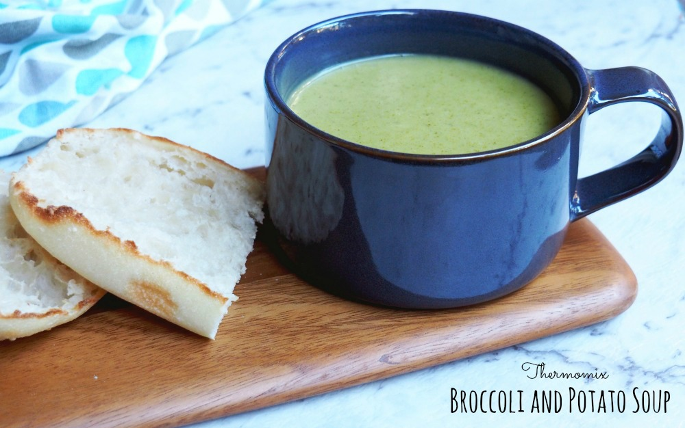 Thermomix Broccoli and Potato Soup 4