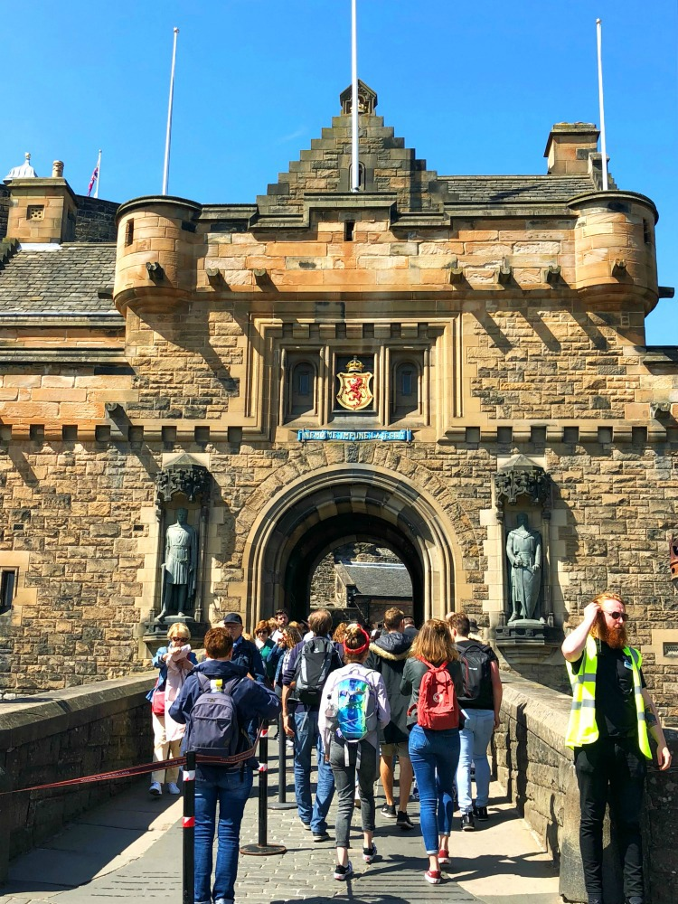 48 hours in Edinburgh - Edinburgh Castle
