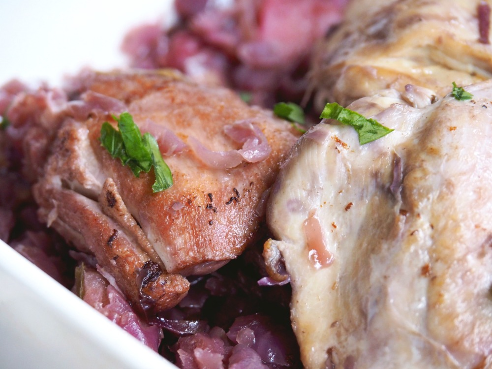 Slow Cooker Chicken with Red Cabbage 4
