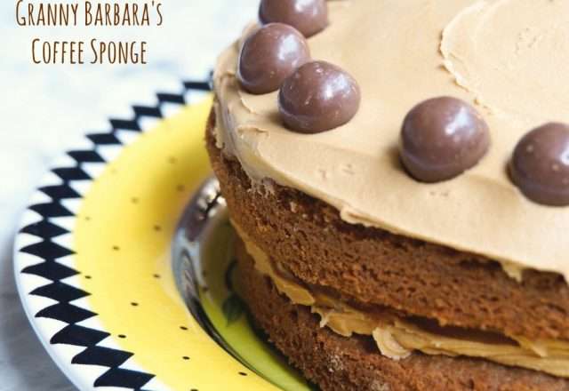 Granny Barbara's Coffee Sponge