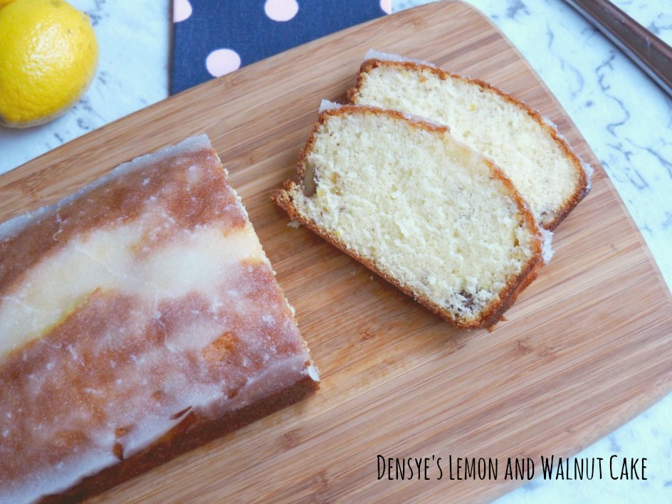 Denyse's Lemon and Walnut Cake