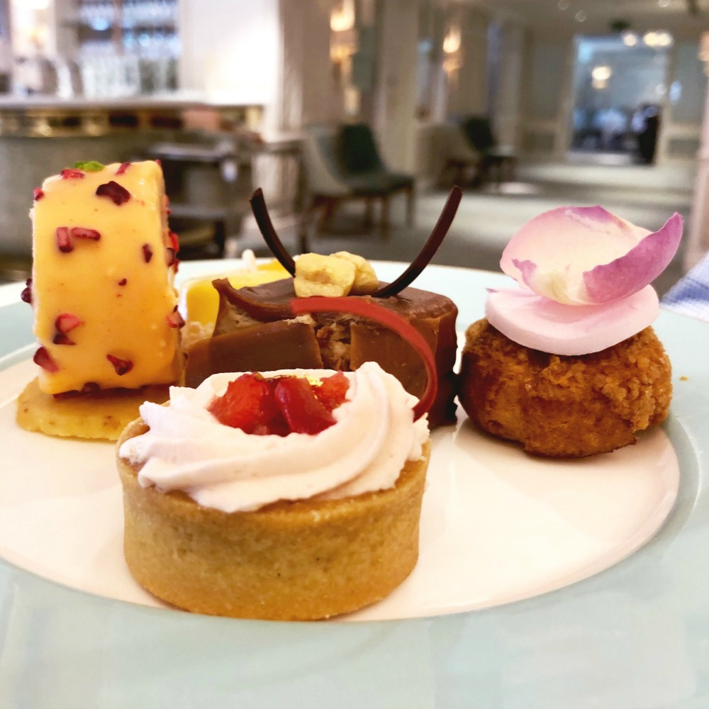 48 hours in London - afternoon tea at Fortnum and Mason