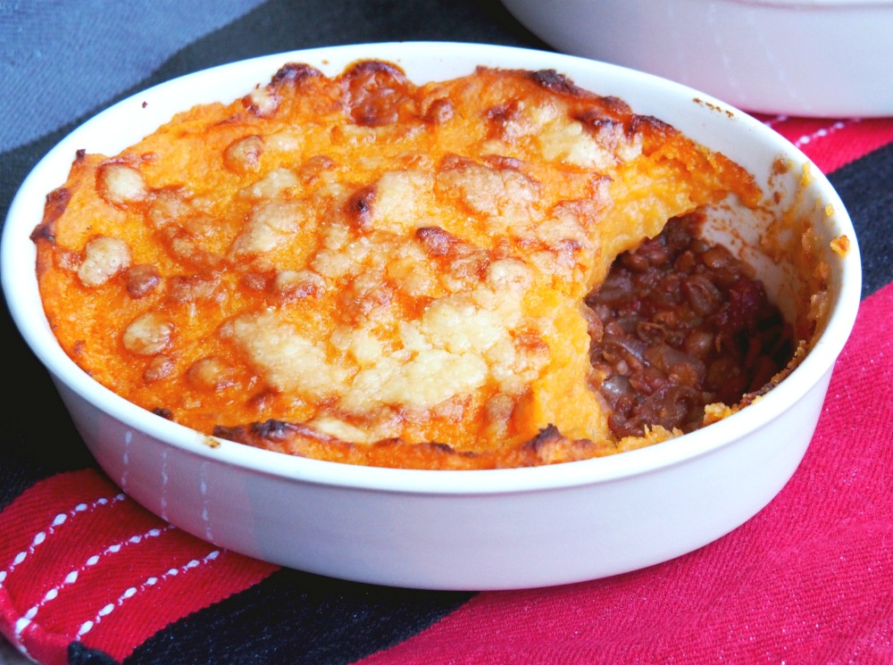 Veggie Shepherd's Pie with Golden Mash 4