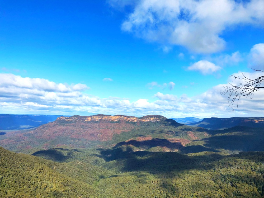 48 hours in the Blue Mountains - Gordon Falls Lookout