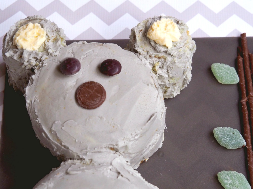 How to make a koala cake 3