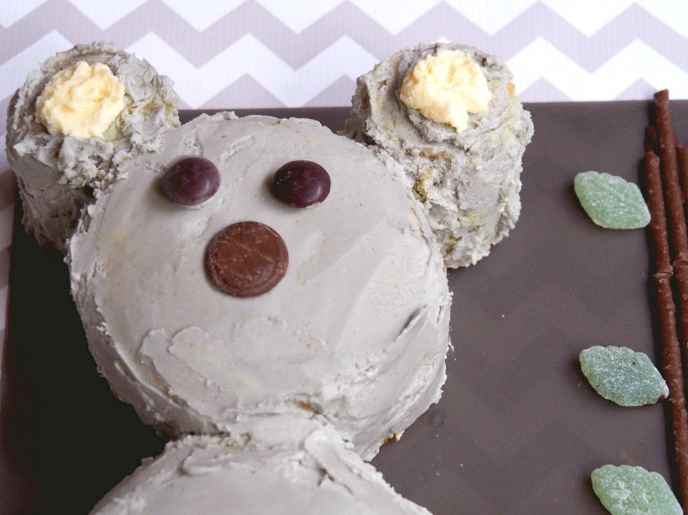 How to make a koala cake 3