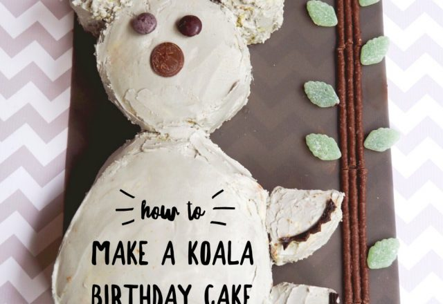 How to Make the AWW Koala Cake