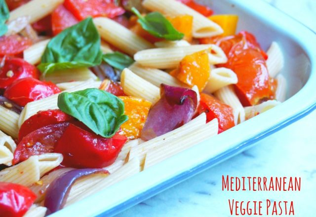 Meatless Monday – Mediterranean Pasta