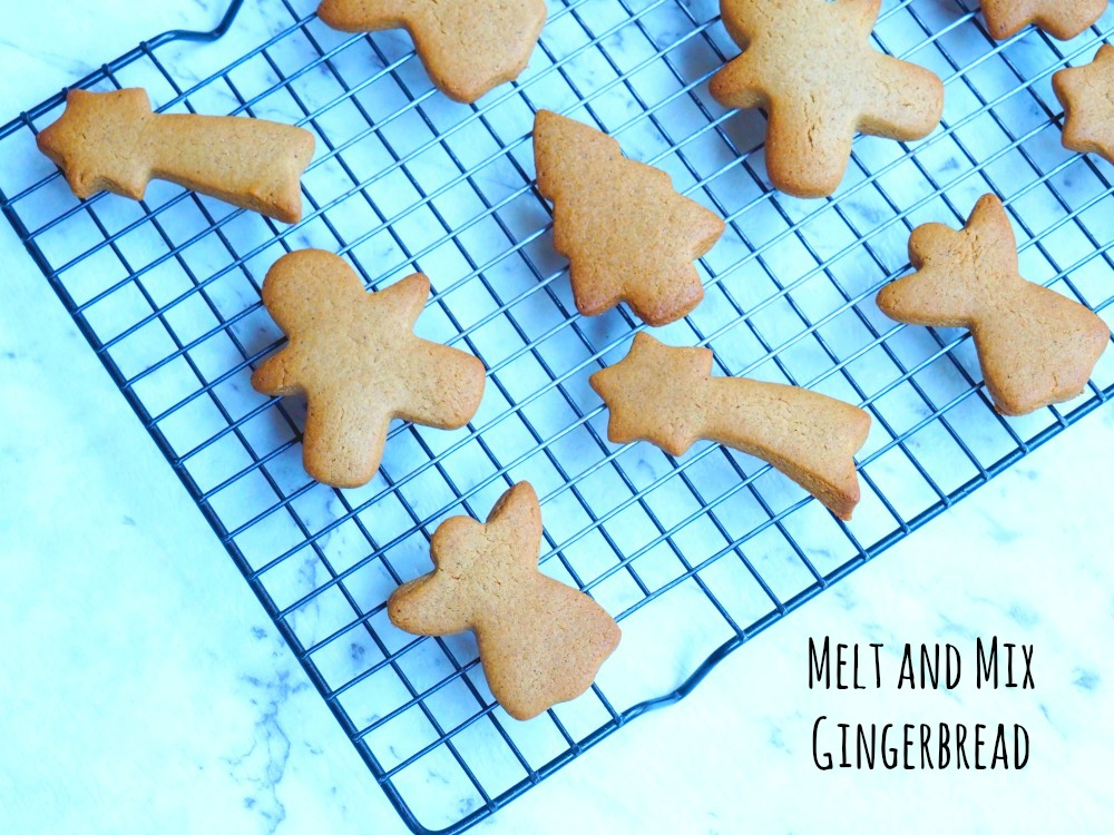 Melt and Mix Gingerbread 1