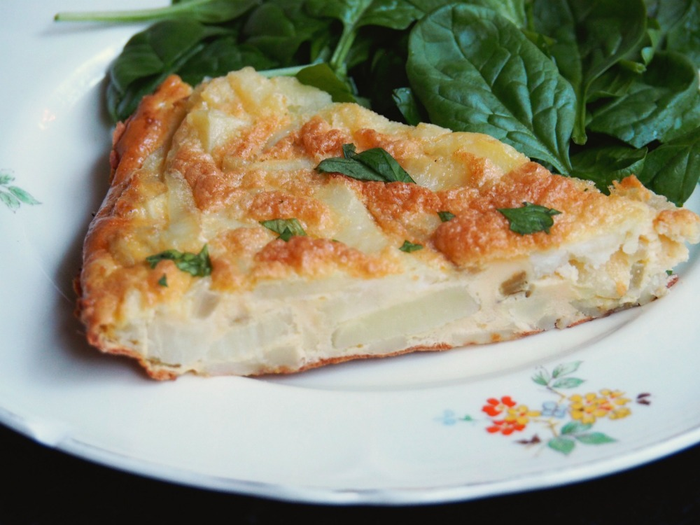 Spanish Potato Frittata 4