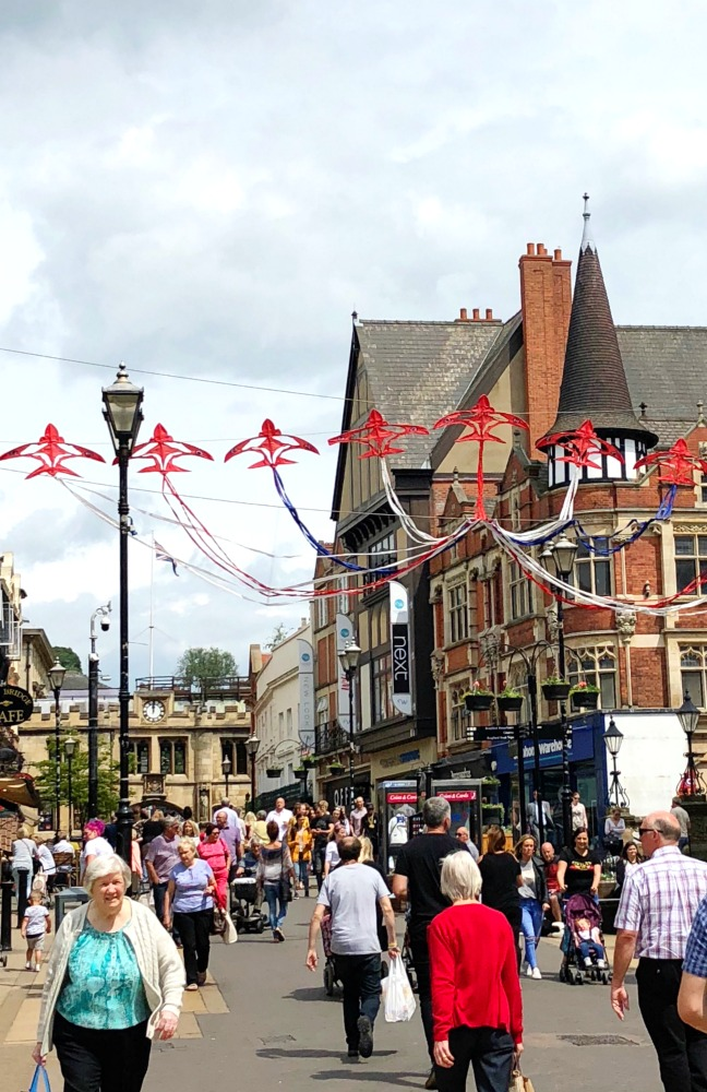 72 hours in Lincoln - High Street