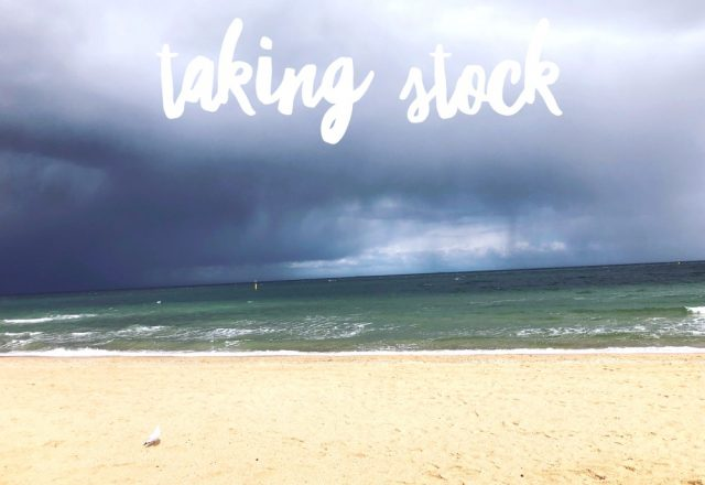 Taking Stock – August 2018