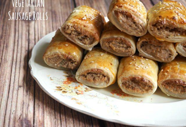 Meatless Monday – Vegetarian Sausage Rolls