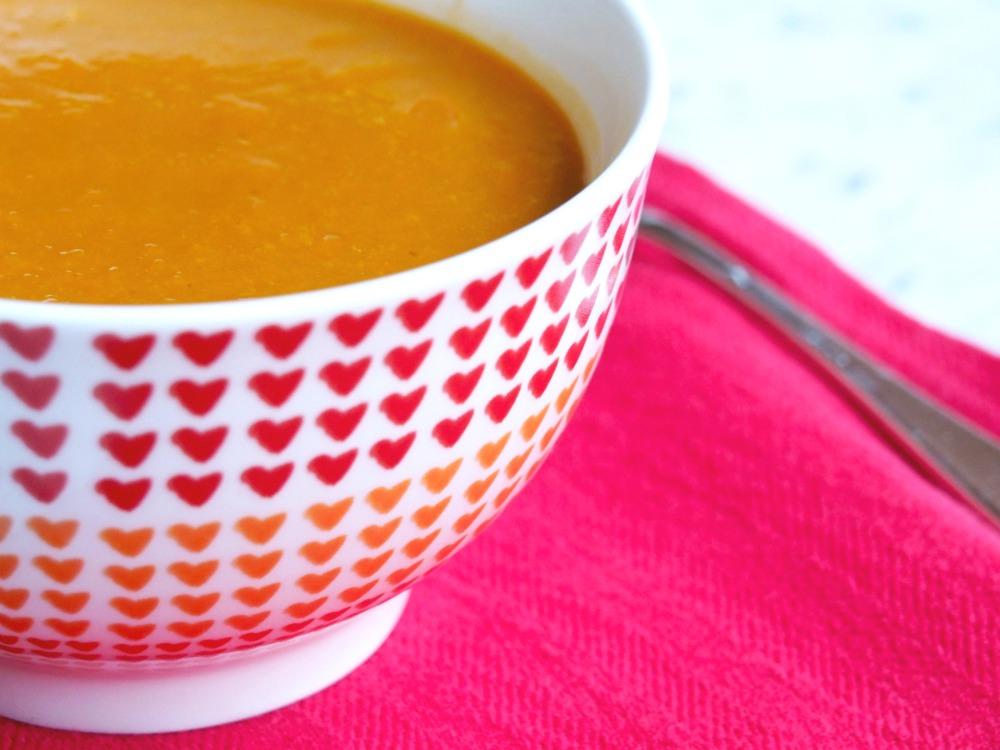 Healthy Pumpkin Soup 4