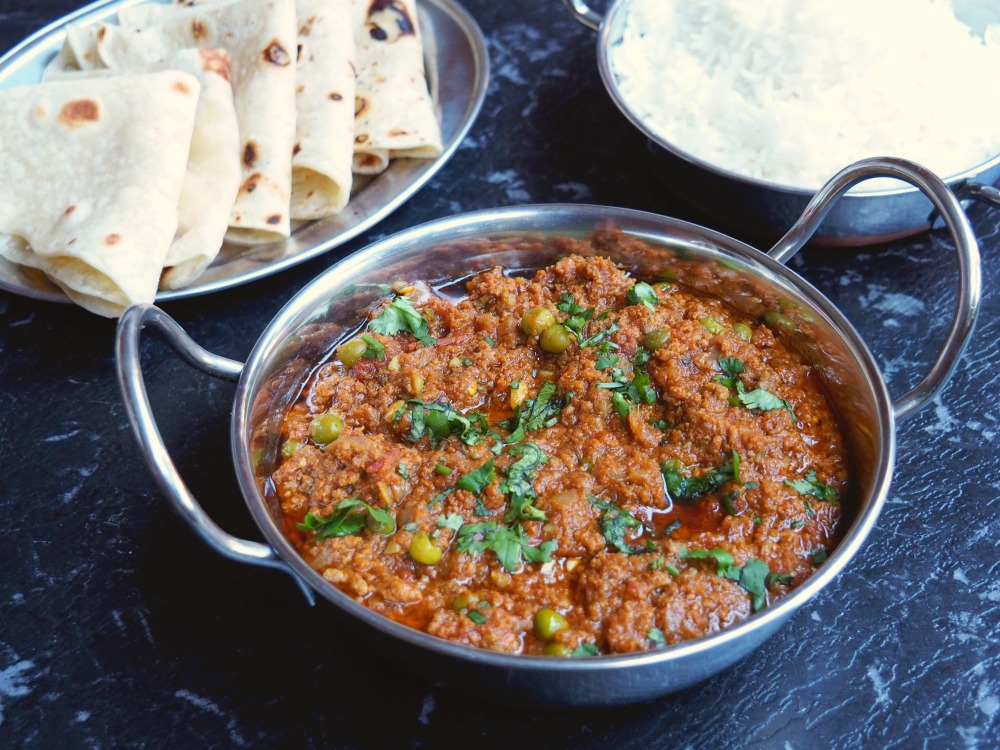 Dharish's Minced Lamb Curry 4