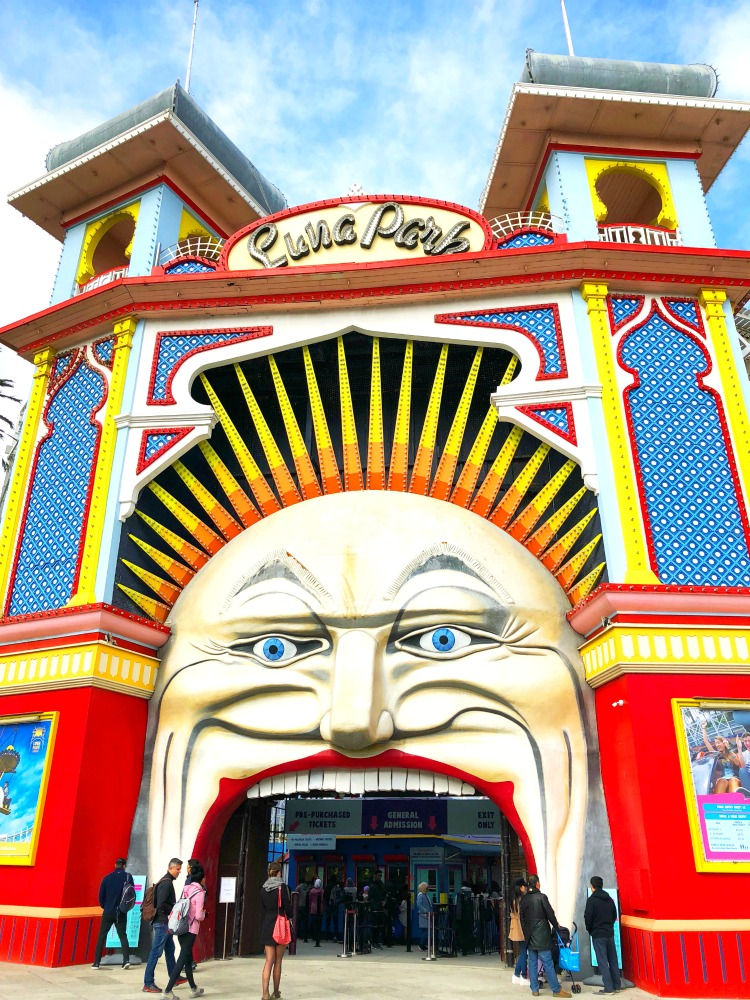 72 hours in Melbourne - Luna Park