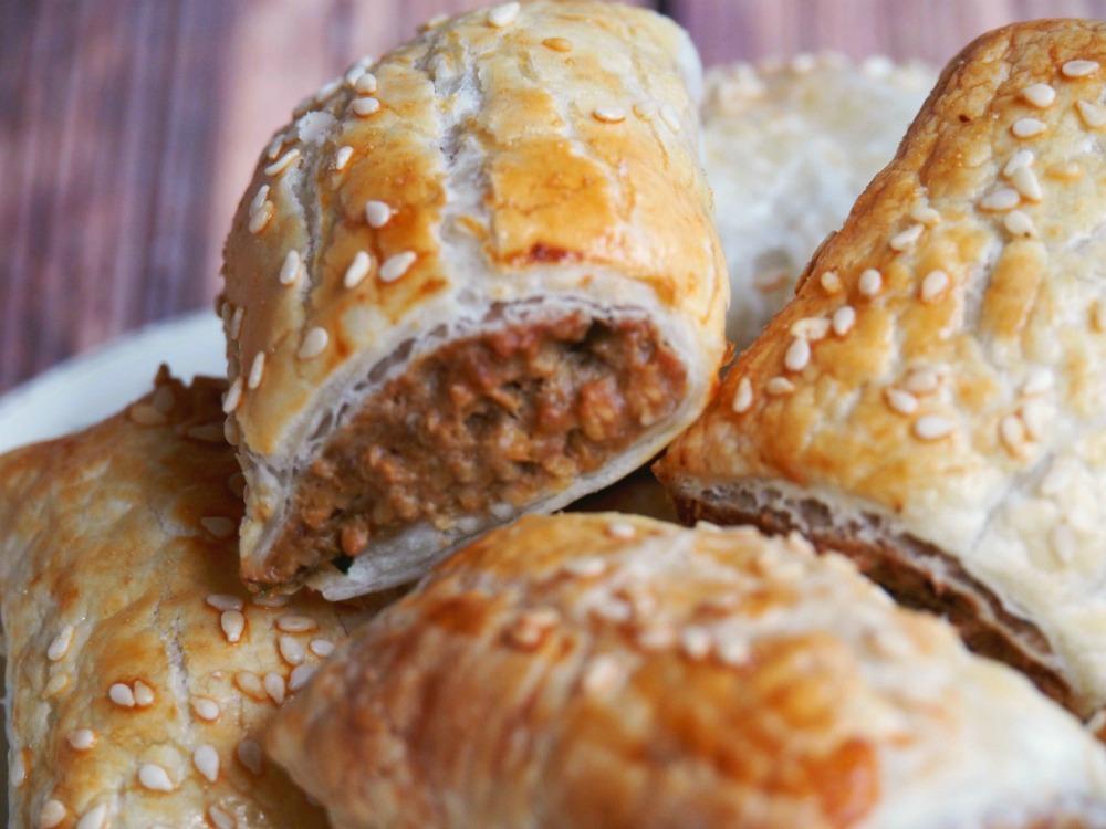 vegetarian sausage rolls 4