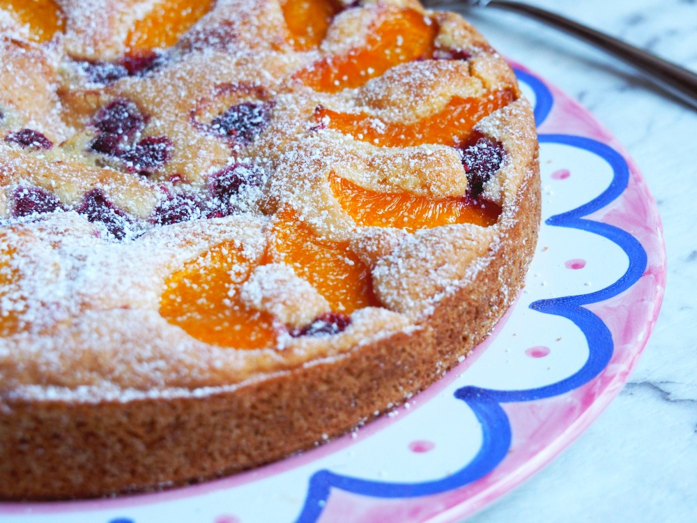 Viv's Peach and Raspberry Tart 6