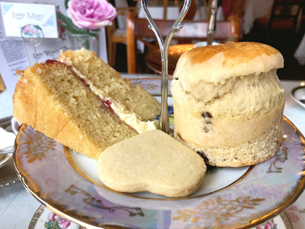 Lady Rose's Edwardian Tea Room - afternoon tea top tier