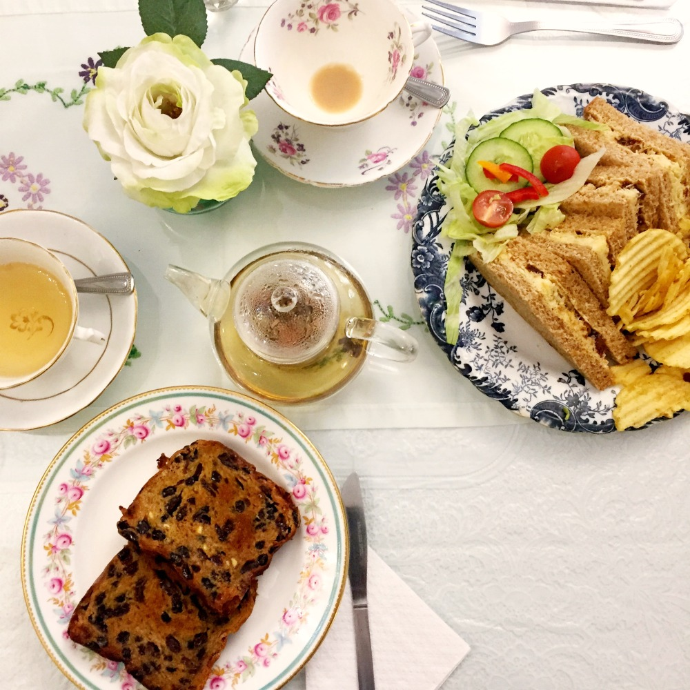 Lady Rose's Edwardian Tearoom - sandwiches
