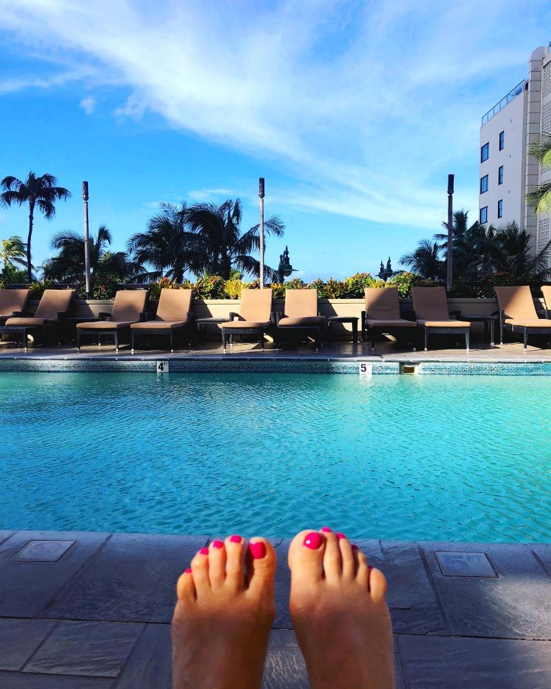 Hyatt Regency Waikiki pool