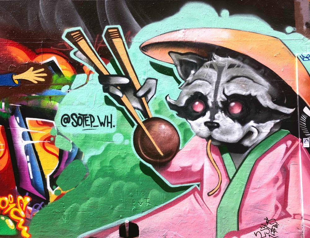72 hours in Melbourne - Street art 1