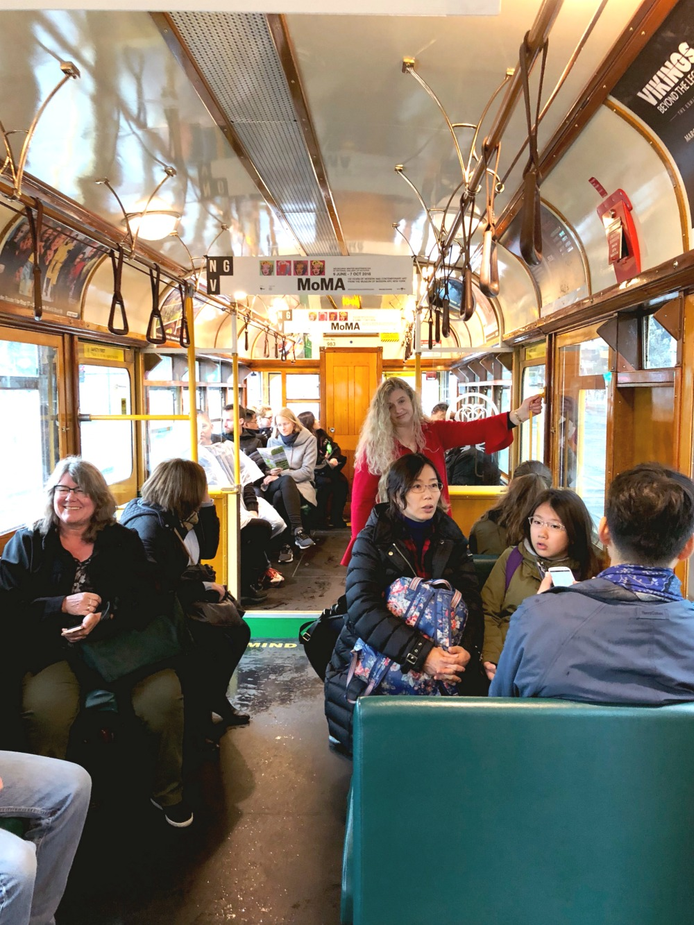 72 hours in Melbourne - city circle tram
