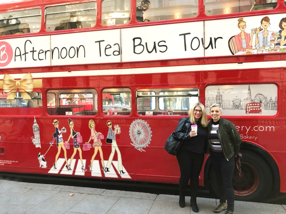 Afternoon Tea Bus London Tour 1