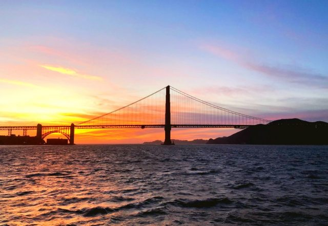 California Sunset – Sailing San Francisco Bay