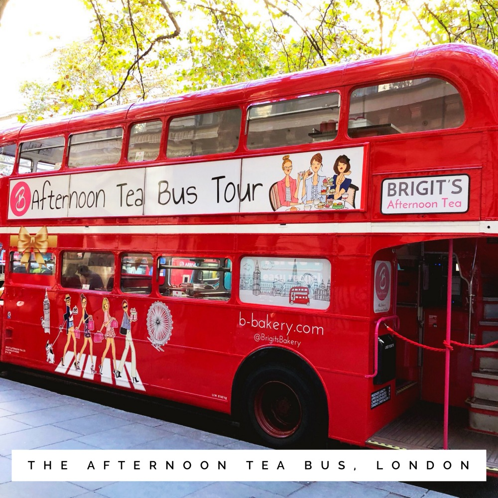 Afternoon-tea-bus -ondon