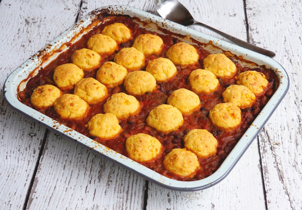 Four-bean-chilli-with-cornbread-dumplings